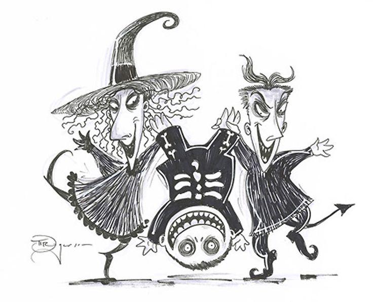 11 best Tim burton images on Pinterest | Drawing ideas, Nightmare ...