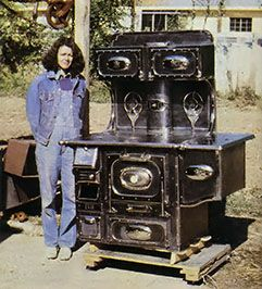 Antique Wood Stove Restoration When it comes to antique wood stove restoration, Bill Eckert is the master. Originally published as