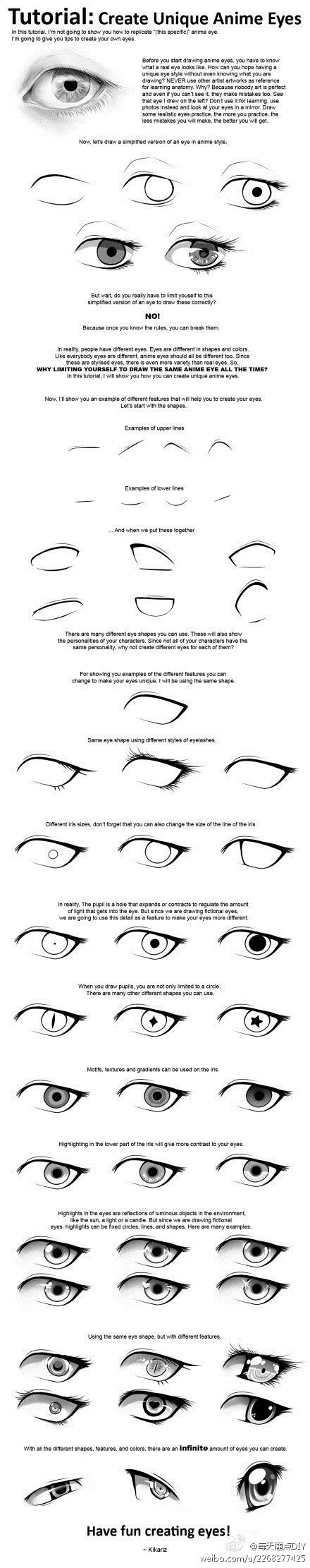 Find This Pin And More On Anime: Eyes How To Draw