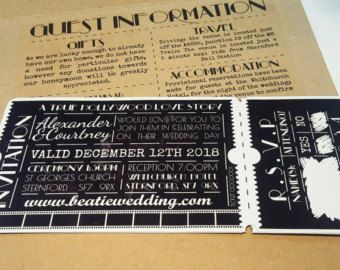 How To Make Movie Ticket Wedding Invitations. Top 10 Most Glamorous Black U0026 White Striped Wedding Invitations. 20 Cool Wedding Invitations. . Enchantment Garden Flourish Movie Ticket Wedding Invitation New Asters Oak Home. Vintage Wedding Invitation Set Design Template Vector Place Card Response Card Save The Date Card. Rugby Ticket Wedding Invites. Rehearsal Dinner Party Invitations. Wedding Invites Birthday Birthday Bridal Shower. Wedding Invites. Yellow Minimal Farewell Party…