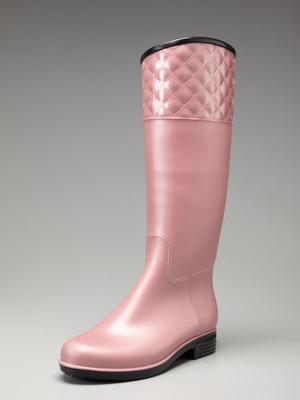 Dress up rain boots pink pie style