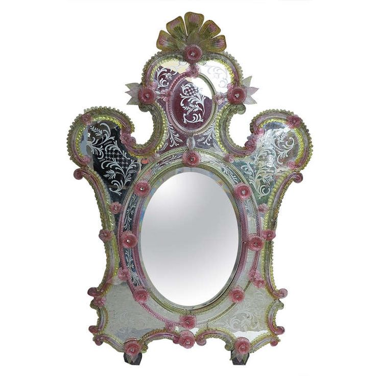 Extraordinary Murano Mirror