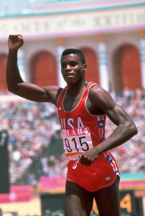 """""""My best year of track competition was the first year I ate a vegan diet."""" - Carl Lewis (Nine-time Olympic gold medalist)"""