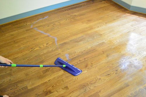 How To Clean, Gloss Up, And Seal Dull Old Hardwood Floors | Young House Love