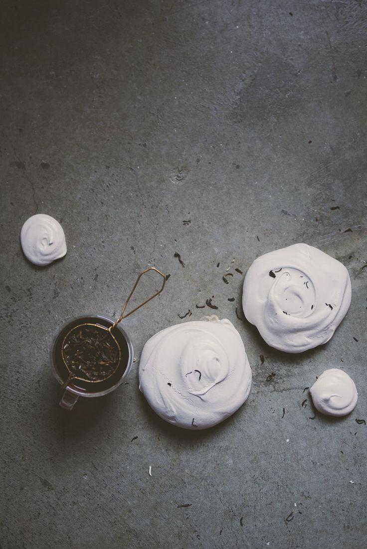 jasmine tea meringues