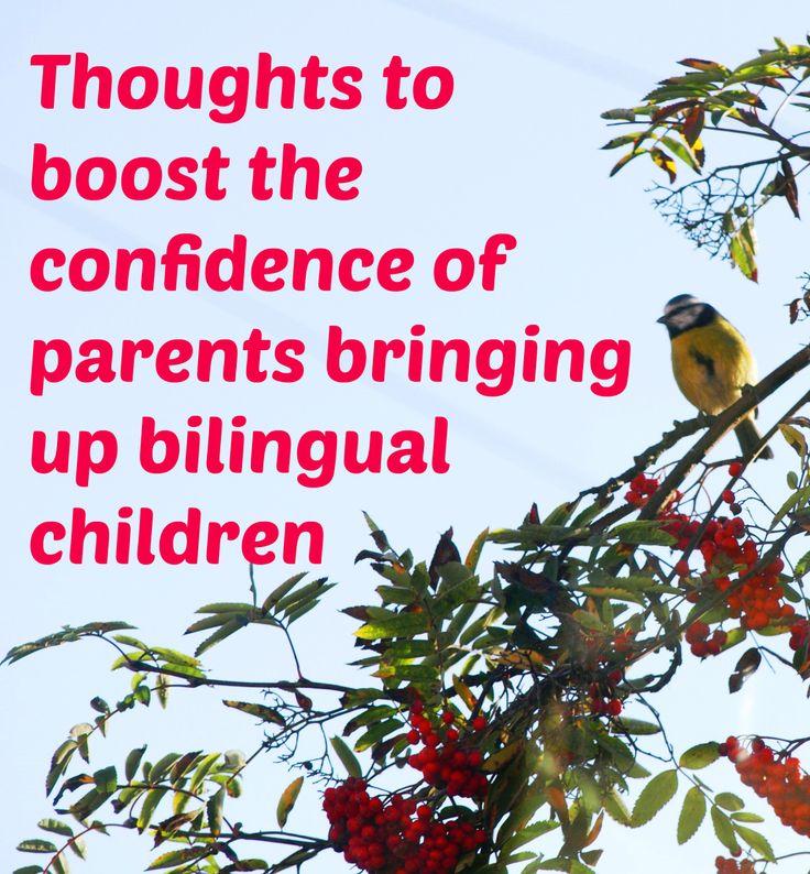 single parent raising a bilingual child Advantages over single the bilingual research raise considerations of what or parents could participate in parent-child language classes.