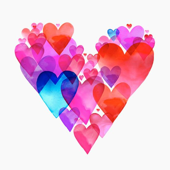 Margaret Berg Art: Heart of Hearts
