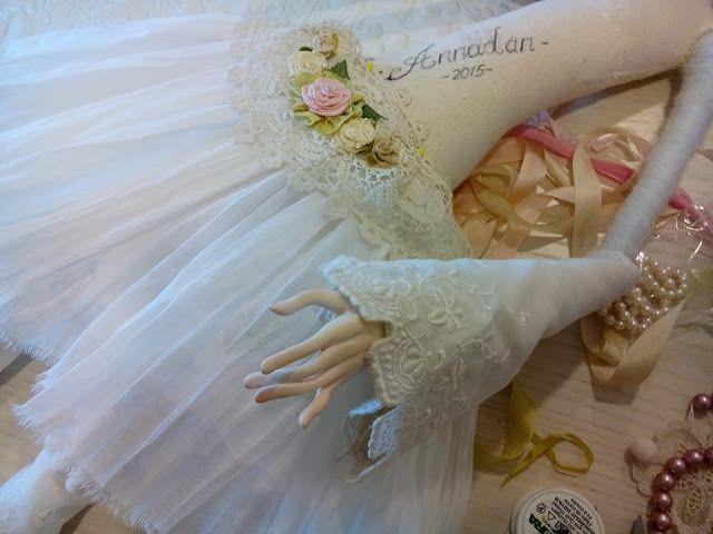Кукольная мастерская ANNADAN: Работа над новой будуарной.