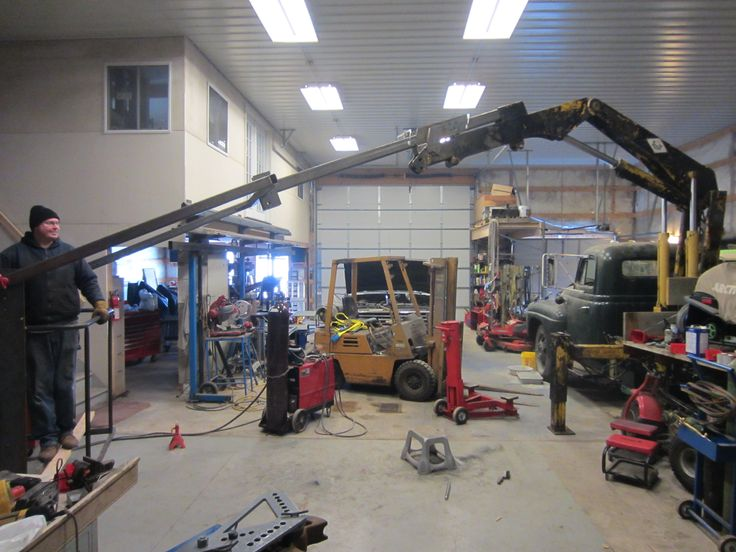 Man Basket w/ Boom Extension for Knuckle boom crane - Kustom's by Kent