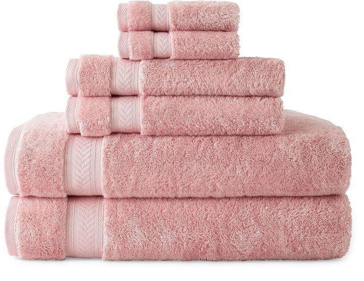 ROYAL VELVET Royal Velvet Luxury Egyptian Cotton Loops 6-pc. Bath Towel Set