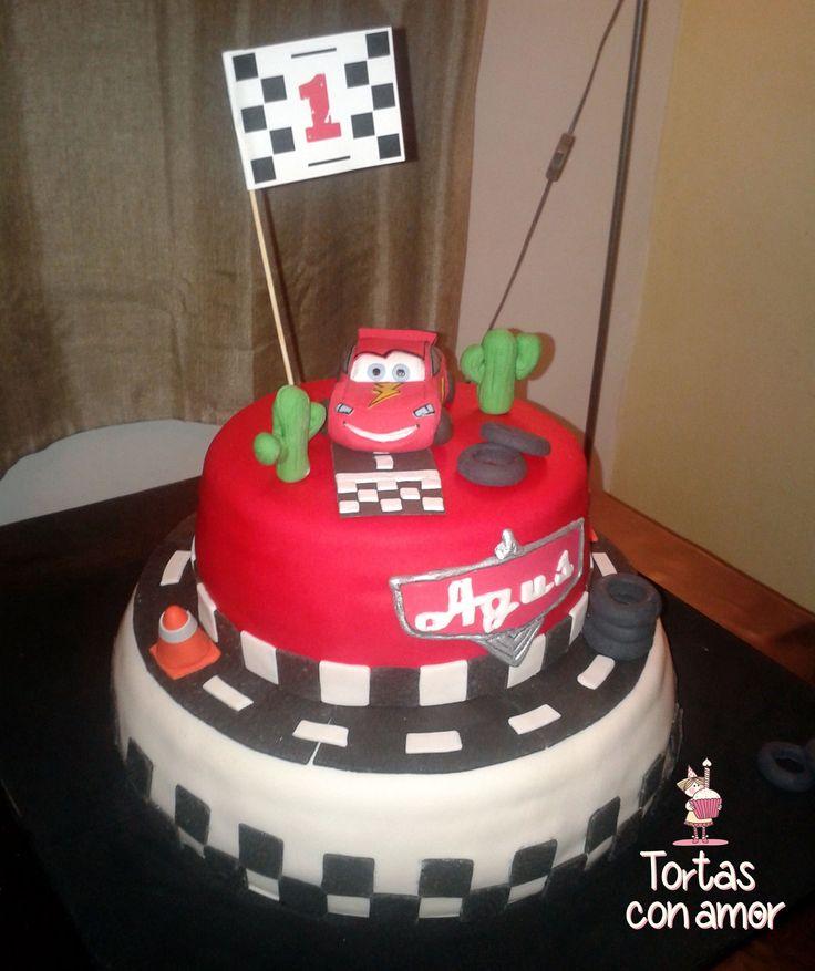 Torta Cars - Cars Cake - Rayo