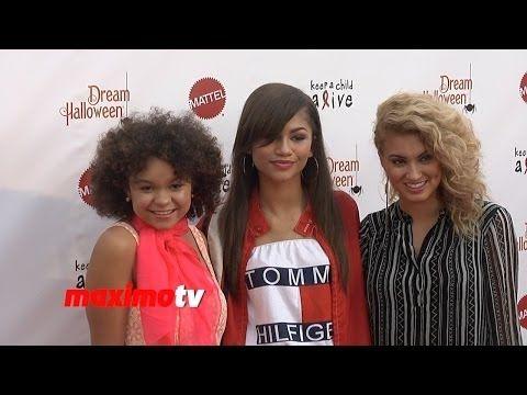 ▶ Zendaya, Tori Kelly, IM5, Rachel Crow and More 20th Annual Dream Halloween Red Carpet Arrivals - YouTube
