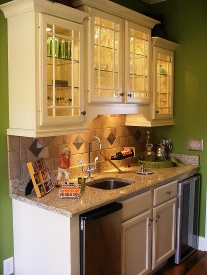 Corner Wet Bar Designs | Wet Bar