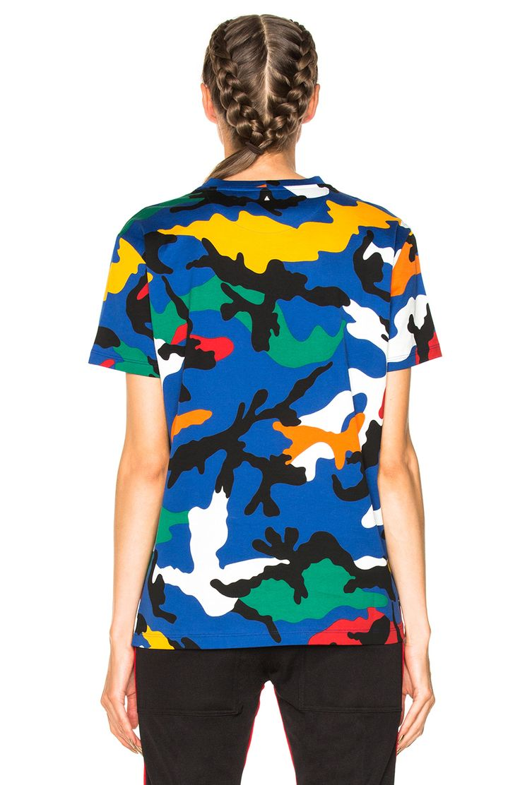 Image 3 of Valentino Camouflage Tee in Multi   $ 595