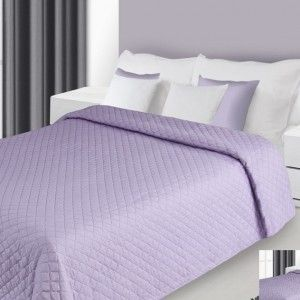 svetlofialovy prehoz na postel