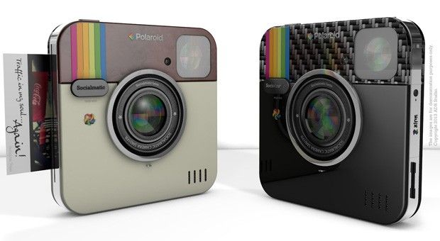 Polaroid to make Socialmatic Camera  I love this!