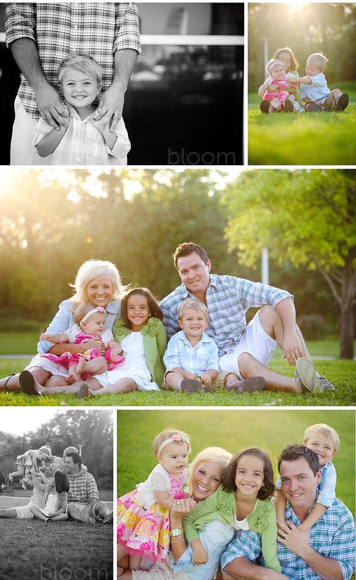 family photo ideas...I love the daddy/son picture!