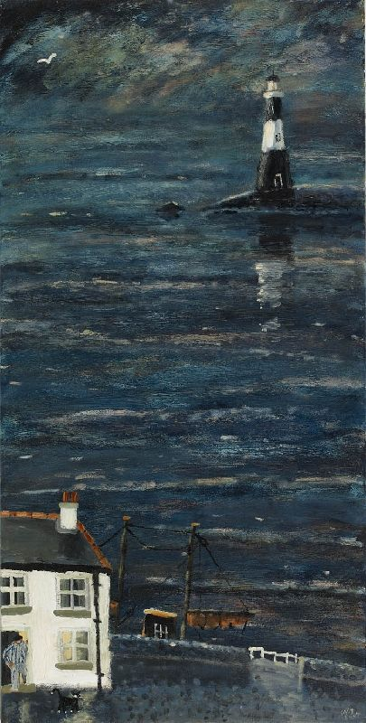 Gary Bunt, Fading Light, oil on canvas