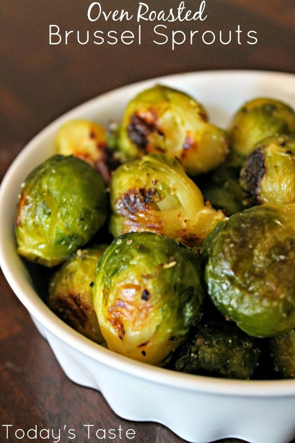 Quick And Easy Roasted Brussel Sprouts So Much Faster