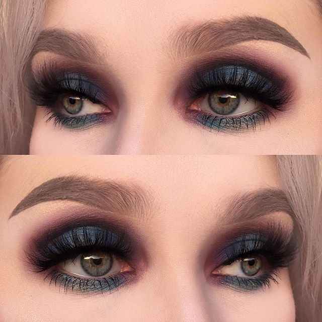 "I used @makeupstore microshadow ""magic"", stardust ""night fever"" and eyedust ""surface"""