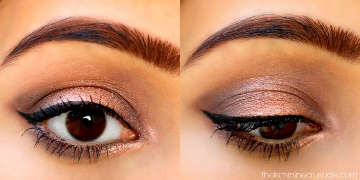 Makeup Revolution Iconic 3 (makeup look)