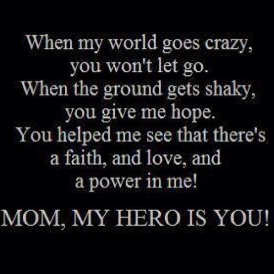 my mom the hero So my mom had to lose her left breast losing one of her breasts was one of the hardest things for my mother for a while, it was difficult for her to believe she was a woman anymore.