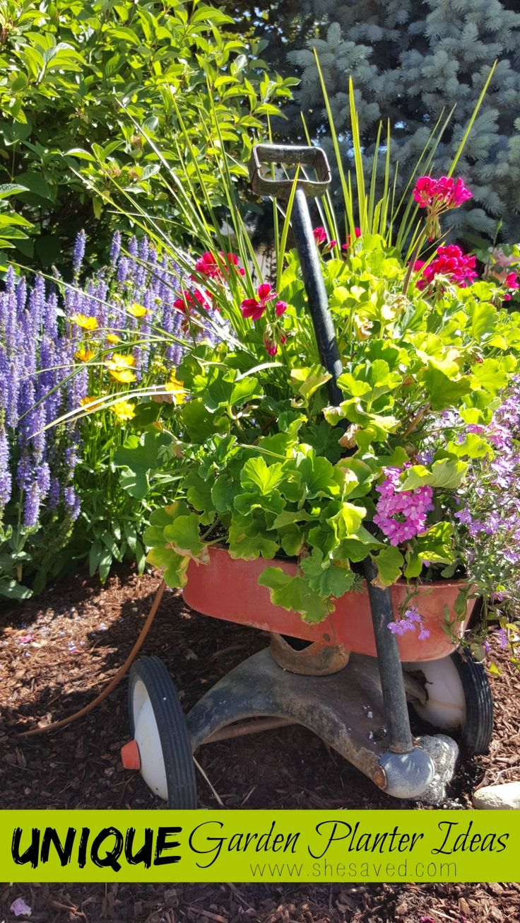 17 images about patio pots and containers on pinterest - Unusual planters for outdoors ...