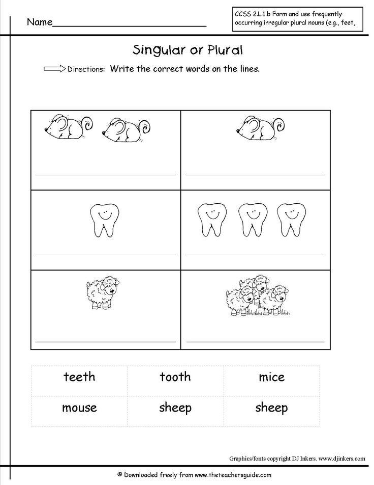 25 best ideas about irregular plural nouns worksheet on pinterest irregular plurals. Black Bedroom Furniture Sets. Home Design Ideas