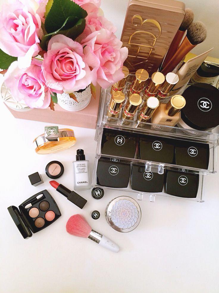 Chanel makeup and Ysl lipsticks
