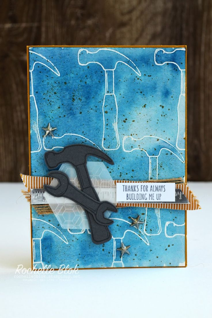 The Stamping Blok   Stampin' Up! Nailed It and Urban District   On Stage Display Samples   Rochelle Blok