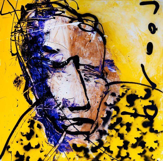 Herman Brood, self-portrait