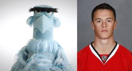 The Chicago Blackhawks as Muppets