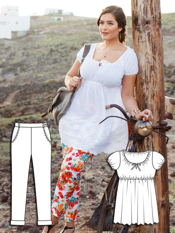 Read the article 'Whimsical Weekend: 9 New Plus Size Sewing Patterns' in the BurdaStyle blog 'Daily Thread'.