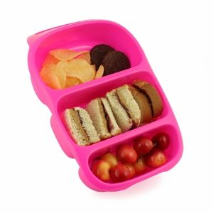 Pink Goodbyn Bynto Compartment Lunch Box for Kids from Eats Amazing UK