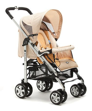 Take a look at this Flax Brown 2011 Bolero Stroller/Bassinet by Zooper on #zulily today!