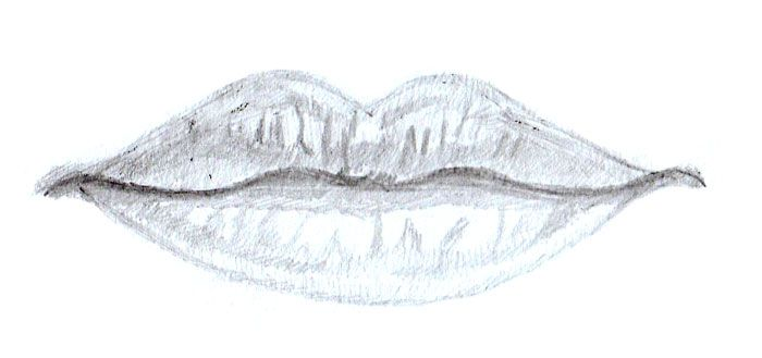 lippen zeichnen lippen und mund zeichnen lernen einfach. Black Bedroom Furniture Sets. Home Design Ideas