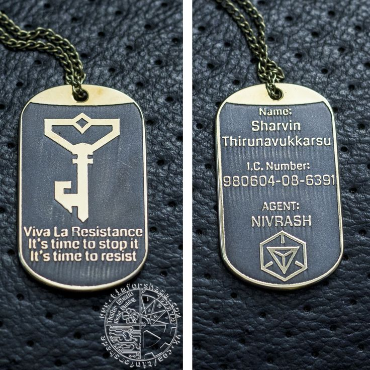 Жетон Ингресс #ingress #dogtag #resistance #brass #customjewerly #jewerly #жетон #кастом #ингресс #timforshade My site: http://www.timforshade.com/ My Etsy: https://www.etsy.com/shop/ElvenTechnology My store for game/movie items: https://www.zibbet.com/timforshade