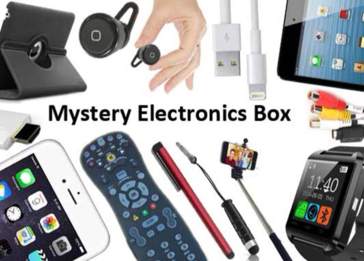"""The Mystery Box You've Been Looking For """" Electronics and Bluetooth Gadgets"""""""