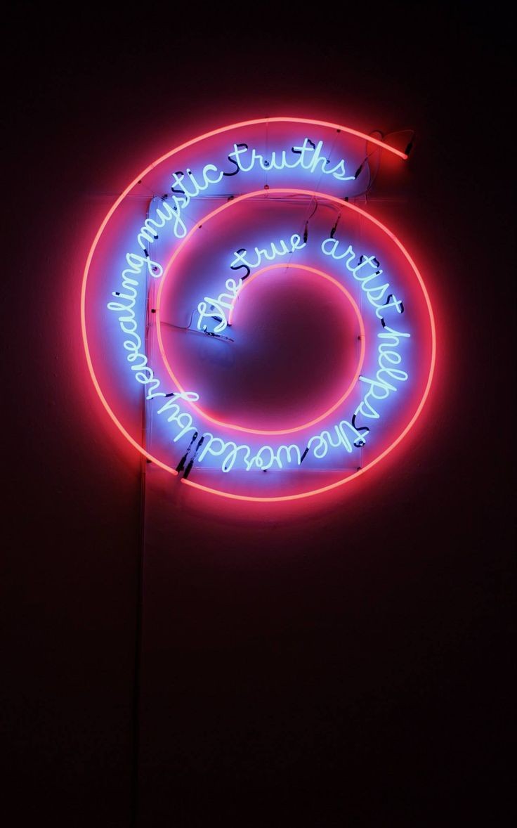 Day 4: Reina Sofia gallery. 'The True Artist Helps The World By Revealing Mystic Truths', Bruce Nauman.