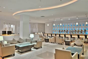 Lobby/Lounge of the Le Blanc Spa Resort (All Inclusive), Cancun, Mexico
