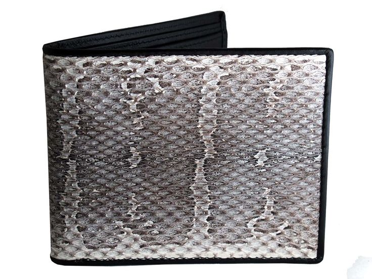 Check this out.... just bought this seriously cool wallet from Real Mens Wallets. Snake Leather Mens Wallets