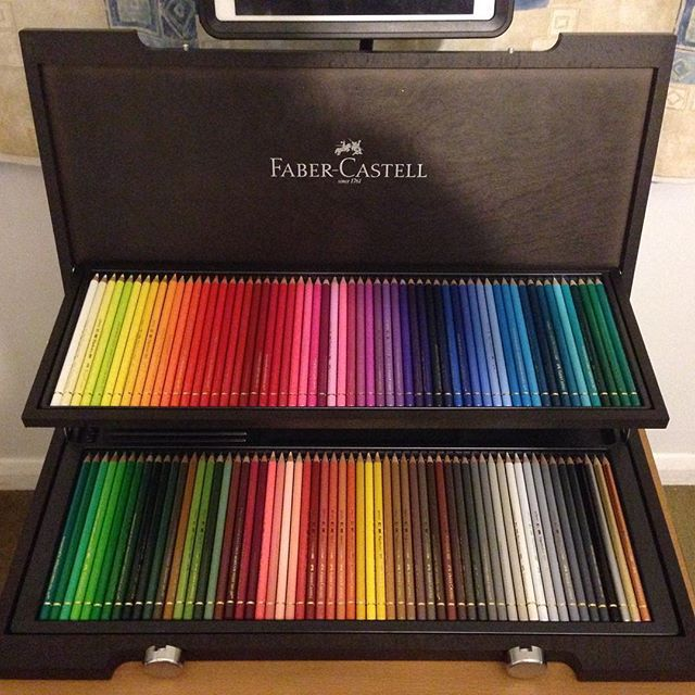 Just arrived, my dream became reality  Faber- Castell Polychromos 120 #cipiart #fabercastell #polychromos