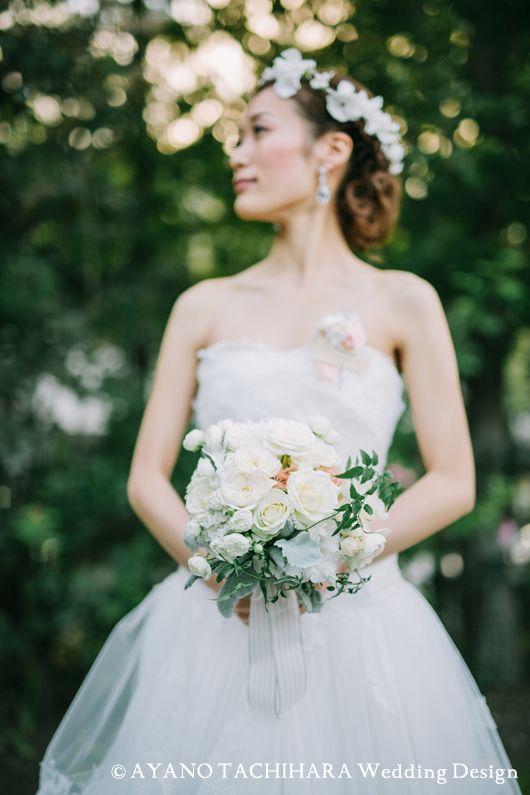 1stBuquetkaruizawa garden Wedding_ハワイウエディング_produced by AYANO TACHIHARA Wedding Design 軽井沢ガーデンウエディング、邸宅ウエディング