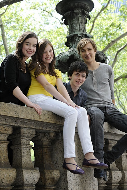 The Pevensie's! William Mosely, Anna Popplewell, Skandar Keynes, Georgie Henley