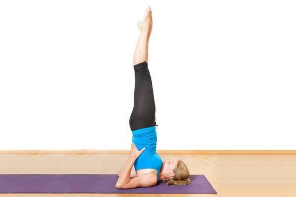 Yoga For Weight Loss - Sarvangasanam