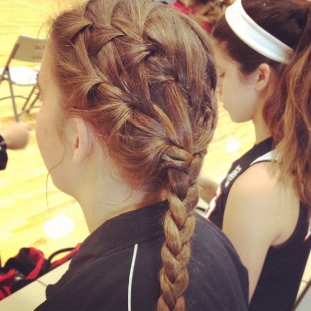 Cute Volleyball Hairstyles For Long Hair : More volleyball hairstyles