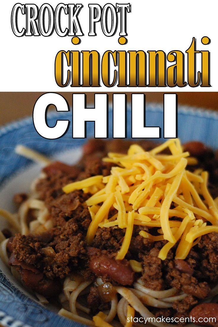 Cincinnati Chili on Pinterest | Skyline Chili, Chili and Chili Recipes ...