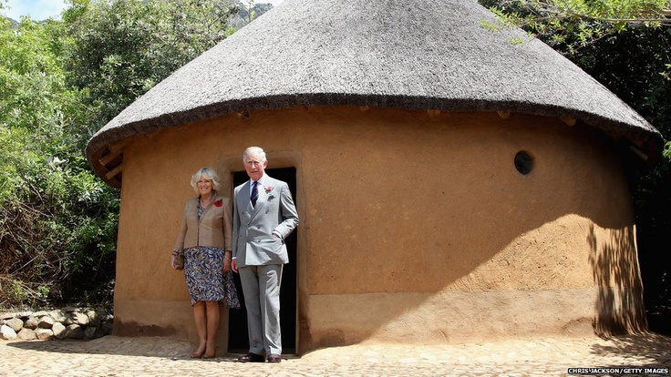 The Prince of Wales and his wife, the Duchess of Cornwall, visit Kirstenbosch Gardens during a five-day tour of South Africa.