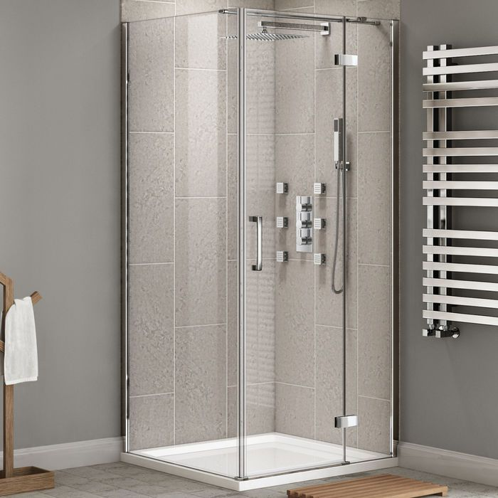 900x900mm 8mm Premium Easyclean Hinged Door Shower Enclosure Shower Doors Shower Enclosure Bathtub Doors