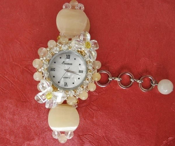 Часы для студентов подарок на день рождения кристалл часы модные часы diy часы с браслетом - хо